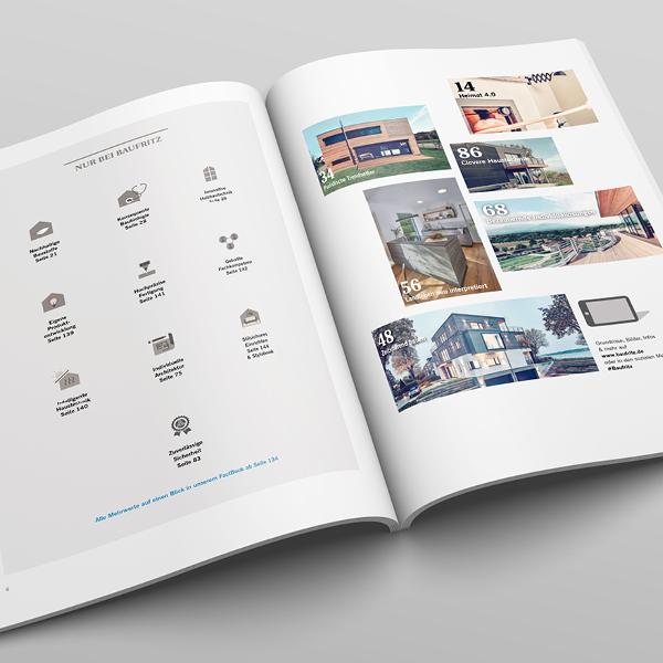 Kreatives Layout Inhaltsverzeichnis