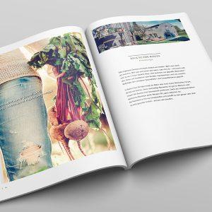Seitendesign für Naturnahes Wohnen