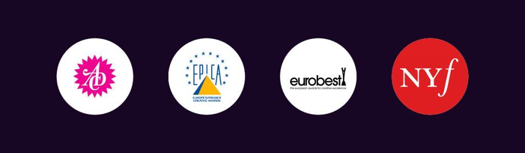 Design Auszeichnungen Logos